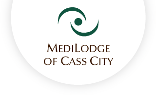 Medilodge of cass city web logo